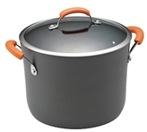 Rachael Ray 10QT. Hard-Anodized Non-Stick Covered Stockpot