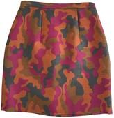 Christopher Kane Orange Wool Skirts
