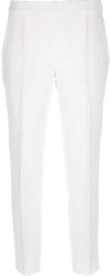 Moschino textured tailored trouser