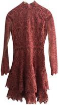 Jonathan Simkhai Red Lace Dresses