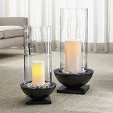 Crate & Barrel Solaria Hurricane Candle Holders