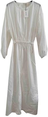Matteau White Cotton Dress for Women