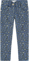 Little Marc Jacobs Mini Me girl skinny fit printed jeans