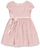 Marie Chantal GirlsTie Waist Jacquard Dress