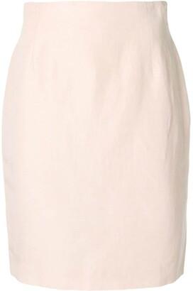 Fendi Pre Owned Midi Pencil Skirt
