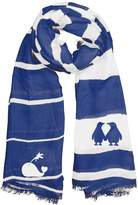 Winky Designs Blue Whale Scarf