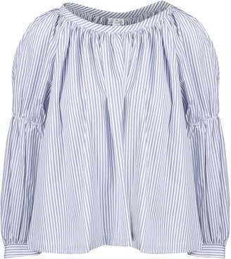 Comme des Garcons Stripes Long Sleeve Blouse