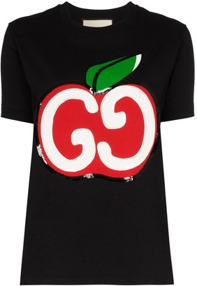 Gucci GG Apple logo T-shirt