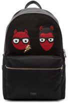 Dolce & Gabbana Black Devil Designer Backpack