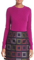 Ted Baker 'Sabrina' Bubble Stitch Crewneck Sweater