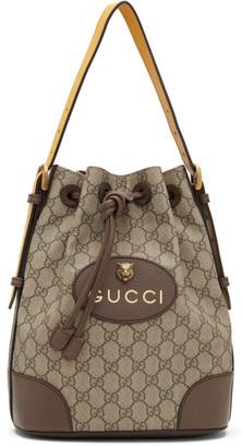Gucci Beige Neo Vintage GG Backpack