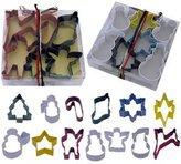 Roland Mouret R & M Christmas Cookie Cutter Set - 13 pcs - Polyresin