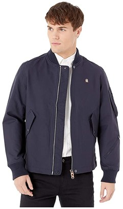 G Star G-Star Stadial Bomber Jacket (Mazarine Blue) Men's Clothing