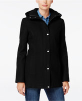 Tommy Hilfiger Hooded Peacoat, Only at Macy's
