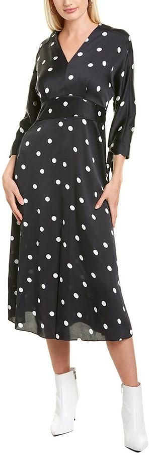 Anne Klein Dolman Sleeve Midi Dress