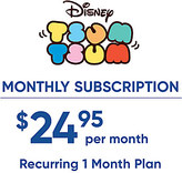 Disney ''Tsum Tsum'' Monthly Subscription
