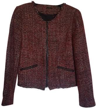Ikks Red Wool Jacket for Women