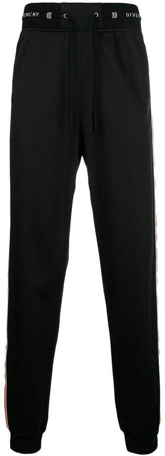 Givenchy elasticated waist trousers