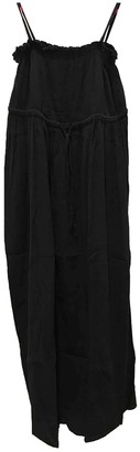 Laura Urbinati Black Cotton Dress for Women