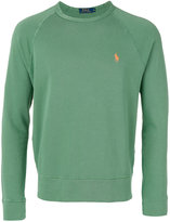 Polo Ralph Lauren embroidered logo sweatshirt - men - Cotton - S