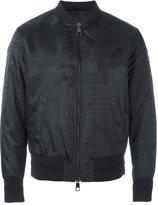 Neil Barrett patterned bomber jacket