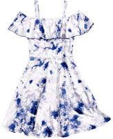 Epic Threads Tie-Dyed Dress, Big Girls, Created for Macy's