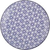 Design Studio Tokyo Nippon Blue Dinner Plate - Stripe