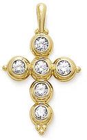 James Avery Jewelry 14K Gold Antiquity Cross Pendant with Diamonds