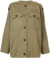 Raquel Allegra military jacket - women - Cotton - 0