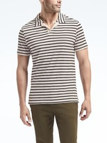 Banana Republic Triple-Stripe Polo