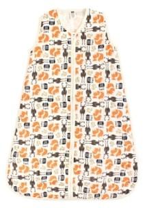 Hudson Baby Baby Girls and Baby Boys Safe Sleep Wearable Muslin Sleeping Bag, 1-Pack