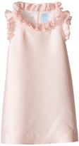 Lanvin Kids - Dress w/ Ruffle Collar Sleeve Detail Girl's Dress