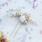 Freya Anusha Crystal And Pearl Hair Pin