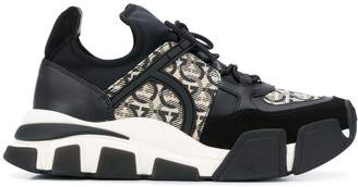 Salvatore Ferragamo Gancini monogram chunky sneakers