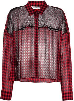 Philosophy di Lorenzo Serafini Multi-Panel Design Long-Sleeve Shirt