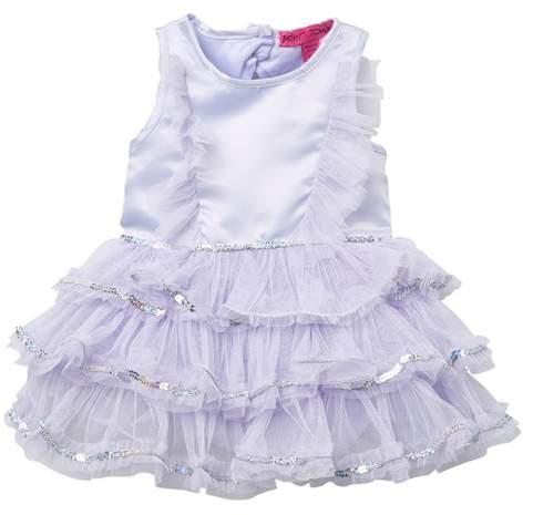 Betsey Johnson Tulle Ruffle Dress (Baby Girls)