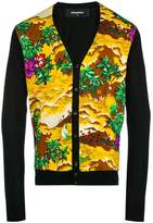 DSQUARED2 novelty print cardigan