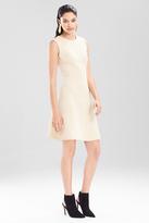 Josie Natori Bonded Gauze Dress