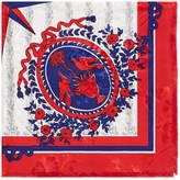 Gucci Carillon print silk scarf