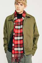 Urban Outfitters Red Plaid Scarf