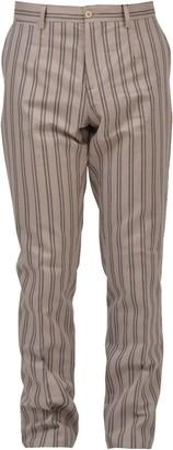 Dolce & Gabbana Striped Slim-Fit Trousers