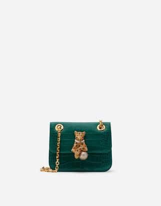 Dolce & Gabbana Medium Jungle Bag With Jewel Closure