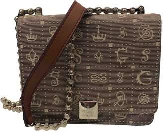 Lancel Daligramme Brown Cloth Handbags