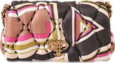 Emilio Pucci Printed silk flap bag