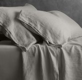 Restoration Hardware Garment-Dyed Linen Fitted Sheet