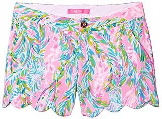 Lilly Pulitzer Buttercup Knit Shorts (Multi Unicorn Of The Sea) Women's Shorts