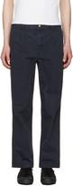 Noah NYC Navy Chino Trousers