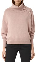 AllSaints Erin Snap Sweater