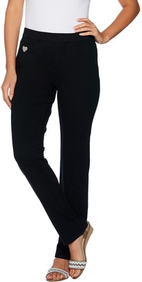 "Factory Quacker DreamJeannes"" Pull-on Tall Straight Leg Pants"