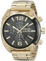 Diesel Men's DZ4342 Overflow Gold Watch